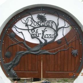 Brama artystyczna, dom prywatny