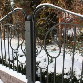 Ogrodzenie, dom prywatny