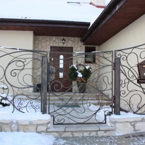 Furtka i ogrodzenie, dom prywatny