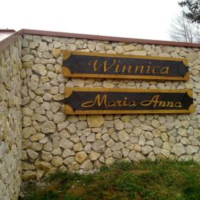 Szyld do Winnicy Maria Anna, Rzeszów