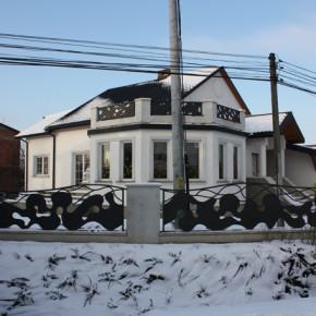 Brama, ogrodzenie, balustrady- dom prywatny