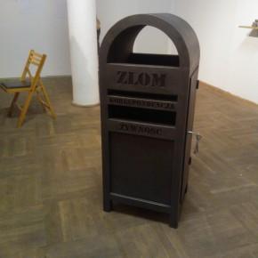 Kontener, projekt artysty Łukasza Surowca