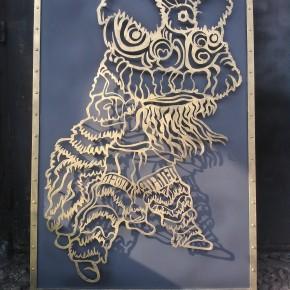 Chiński lew dla szkoły KUNG FU