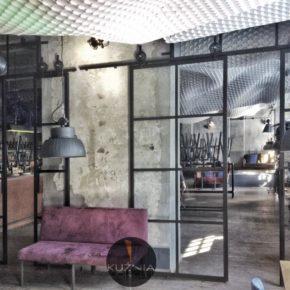 Przeszklenia loft / Crittall / bar - restauracja , Kraków