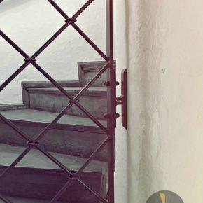 Kuta krata w Arsenale Miejskim we Wrocławiu, kowalstwo artystyczne, Muzeum Miejskie Wrocławia