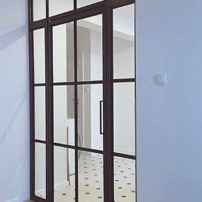 Przeszklenie LOFT , klasyczne wnętrze , Crittall style